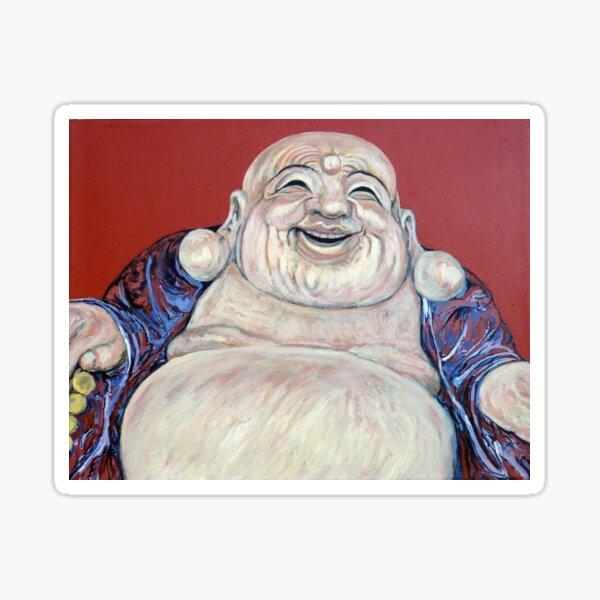 Lucky Buddha Sticker