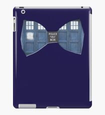 """Bow Ties ARE Cool."" - Dr. Who (Bow tie image only) iPad Case/Skin"