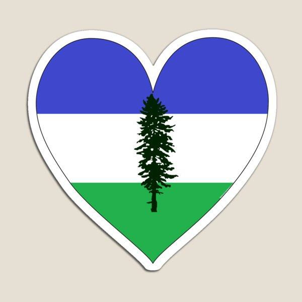 From Cascadia With Love Magnet