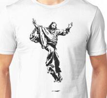 Ollie Christ (black on light tee) Unisex T-Shirt