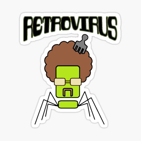 Retrovirus: virus antiguo, nuevas aplicaciones Pegatina