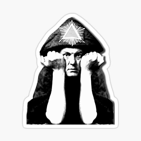 Aleister Crowley Pegatina