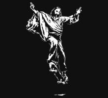 Ollie Christ (white on dark Tee)