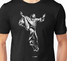 Ollie Christ (white on dark Tee) Unisex T-Shirt