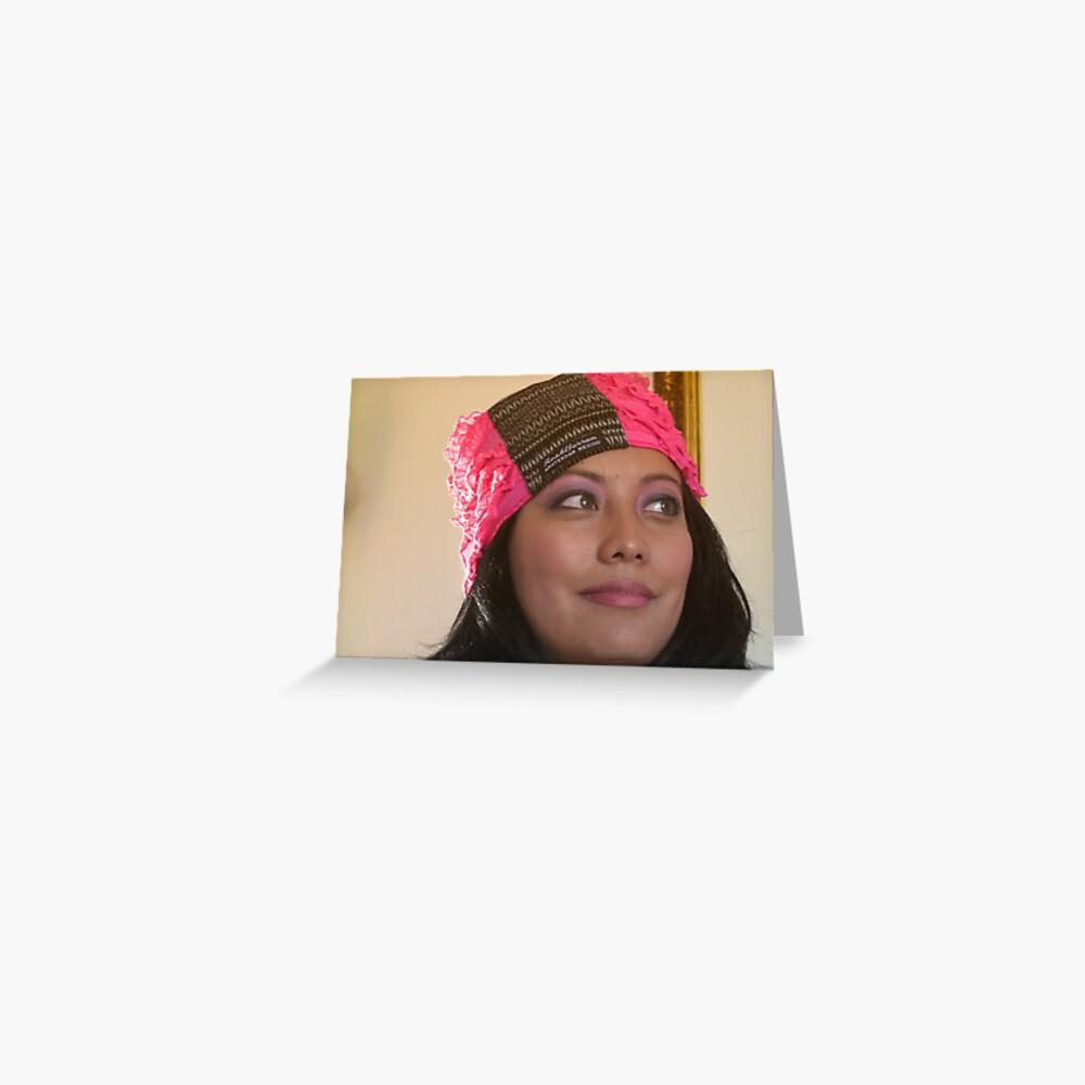 (533) Amsterdam Mexico turban (card) Greeting Card