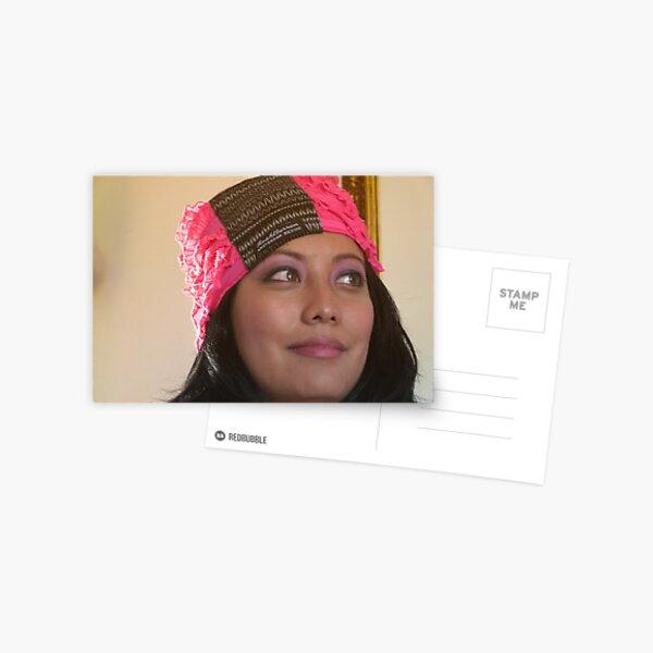 (533) Amsterdam Mexico turban (card) Postcard