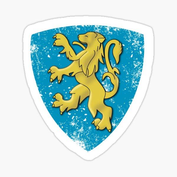 Insignia clásica del león de Peugeot Pegatina