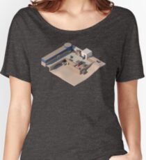 de_dust2 A Site CSGO Women's Relaxed Fit T-Shirt