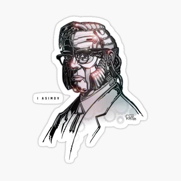 I Asimov Sticker
