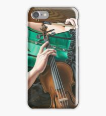 The Fiddler on the Floor iPhone Case/Skin