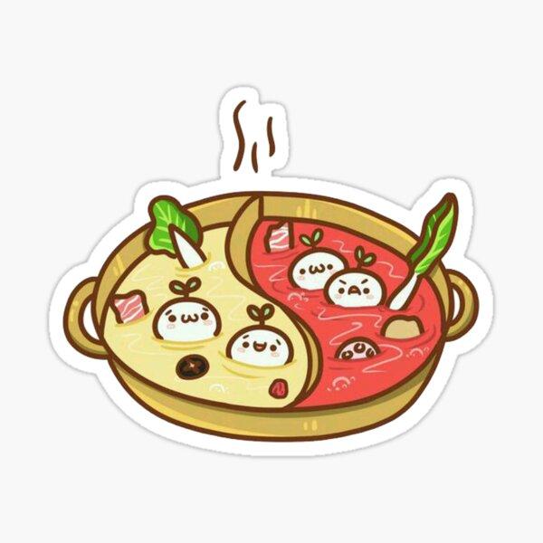Huo Guo (no words) Sticker