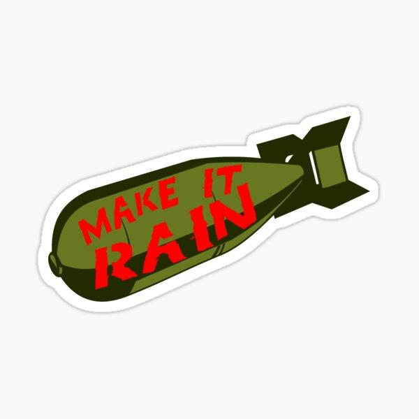 Make it Rain Sticker