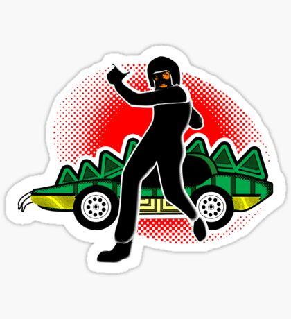 Go, Franky, Go! Sticker