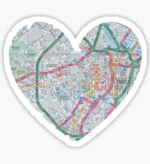 Love Sheffield Glossy Sticker