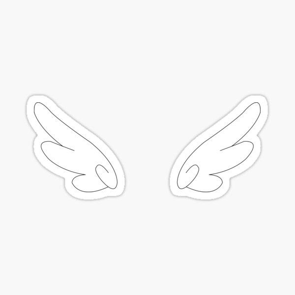 CLAMP Cutesy Wings Sticker