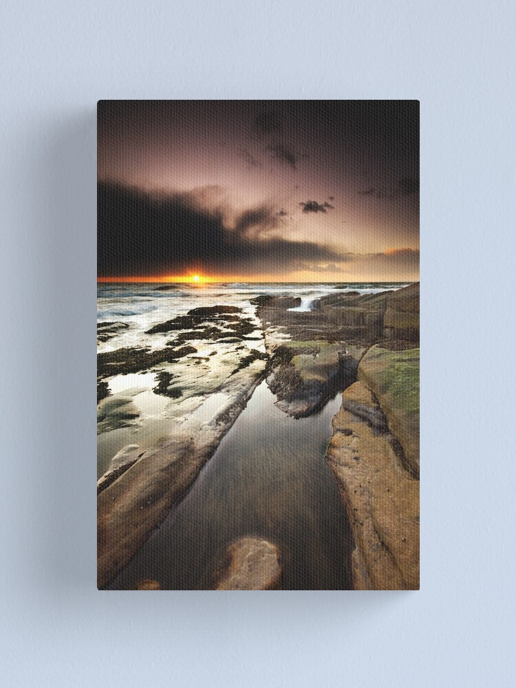 Alternate view of North Sea Canvas Print