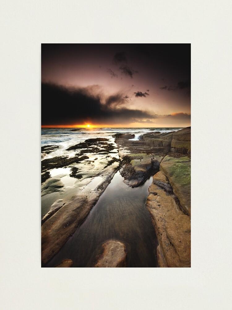 Alternate view of North Sea Photographic Print