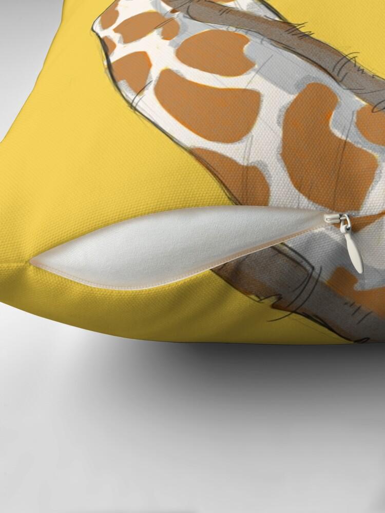 Alternate view of Giraffe Throw Pillow