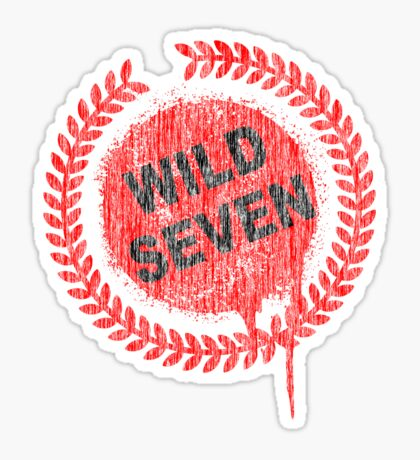Wild Seven Sticker