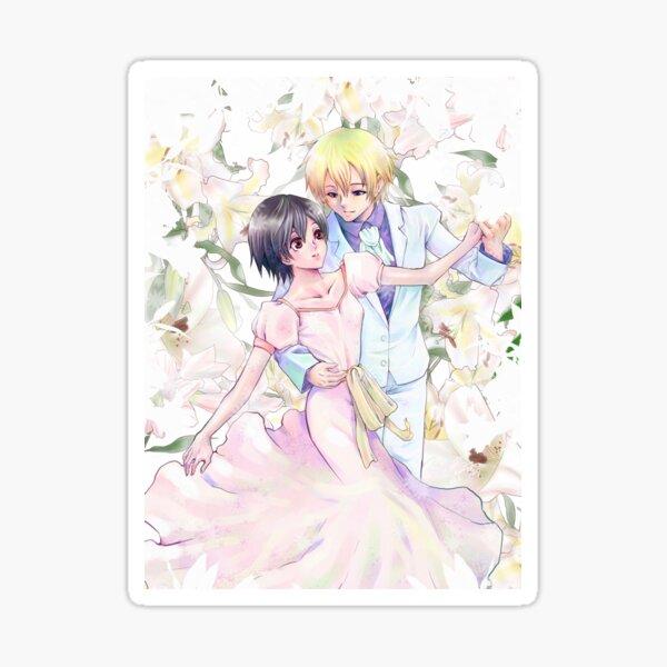 Tamaki + Haruhi dancing Sticker