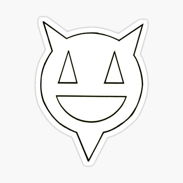 Percentum logo black outline Sticker