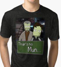 That's No Mun - KSP Tri-blend T-Shirt