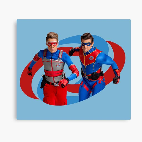 Henry Danger - Action Logo Canvas Print