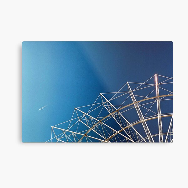 """Flying Objects"" Metal Print"