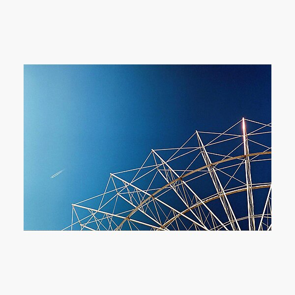"""Flying Objects"" Photographic Print"
