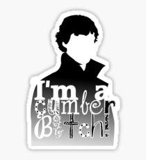 I'm A Cumberbitch Sticker