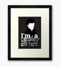 I'm A Cumberbitch Framed Print
