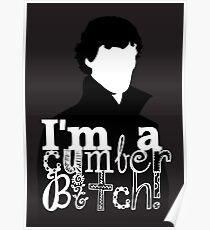 I'm A Cumberbitch Poster