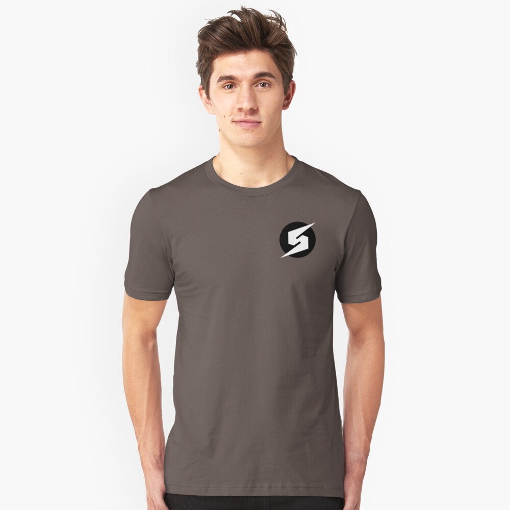 Metroid Screwattack Camiseta ajustada
