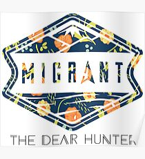 The Dear Hunter Migrant Floral Poster