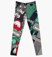 Robot Town Leggings