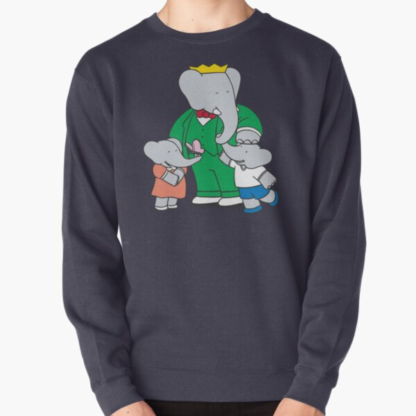 Babar mit Kindern Pullover