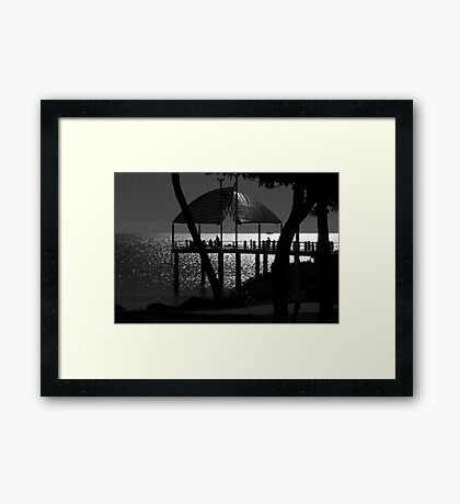The Strand Jetty - Townsville Framed Print
