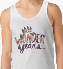 The Wonder Years floral logo  Tank Top