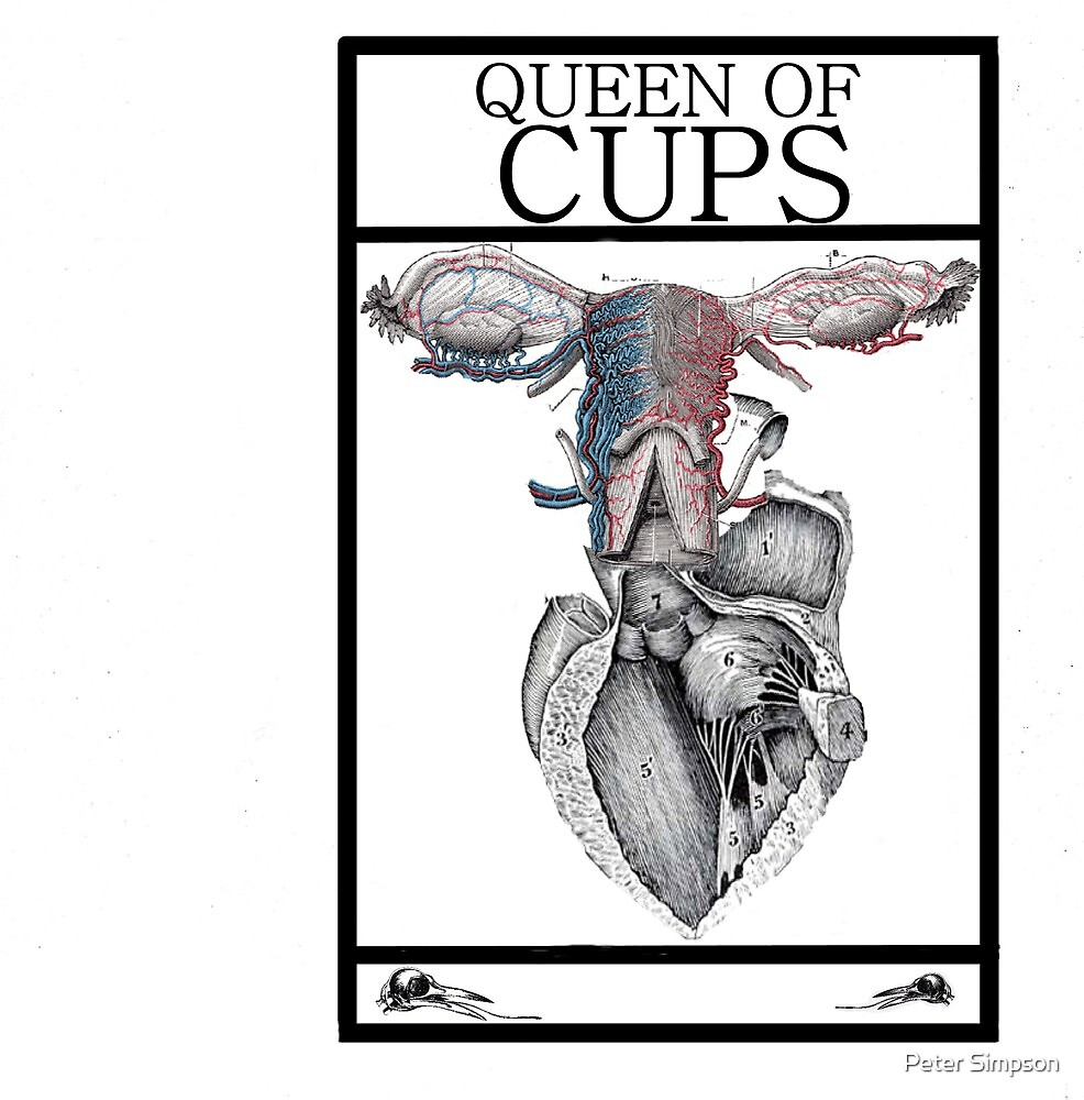 Queen of Cups by Peter Simpson