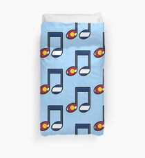 The Sound of Colorado is Music Duvet Cover