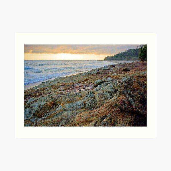 Deadman's Beach at Dawn Art Print