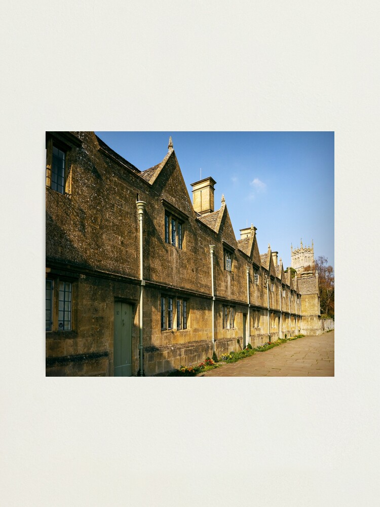 Alternate view of Cotswold Almshouses Photographic Print