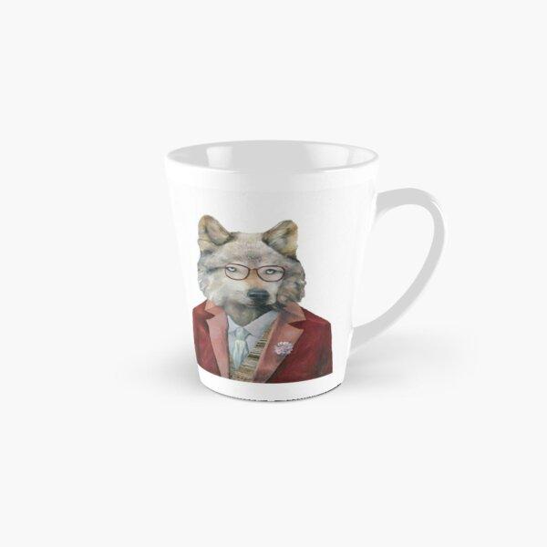 Grey Wolf Tall Mug