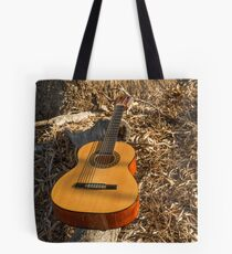 Thinking of the music...... Tote Bag
