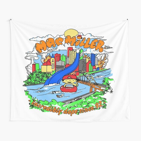 Rapper Play Ground Tapestry