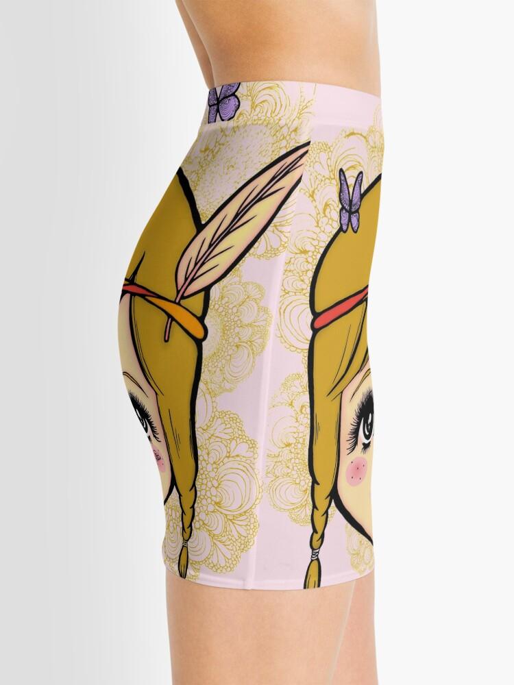 Alternate view of Boho Girl in the Spring Mini Skirt