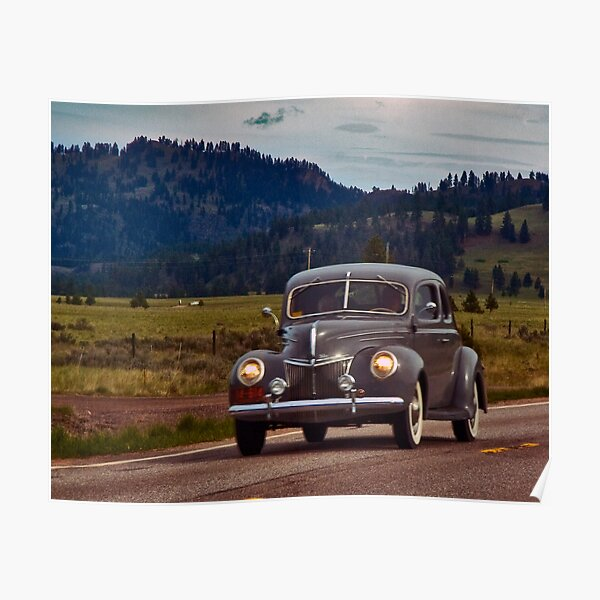 1939 Ford Deluxe Poster
