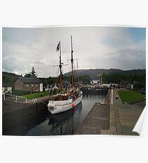 Caledonian Canal Poster