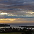 Merimbula Skies - for John by Alison Howson