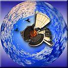 Grain Silo Spherical Panorama by Kym Howard